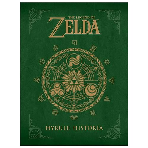 Legend of Zelda Hyrule Historia Hardcover Book