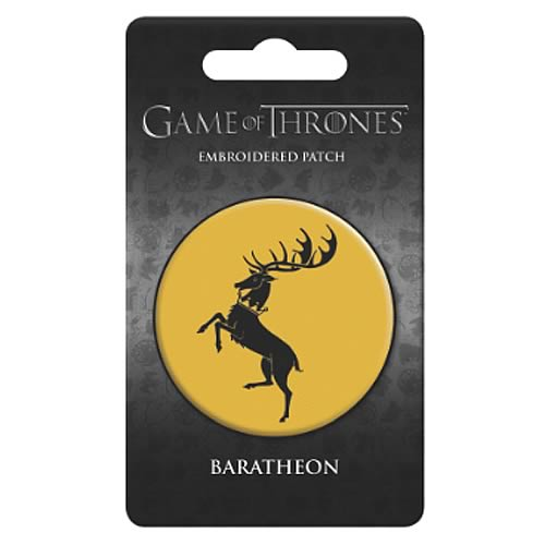 Game of Thrones House of Baratheon Embroidered Patch