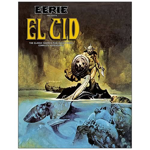 Eerie Presents El Cid Hardcover Graphic Novel