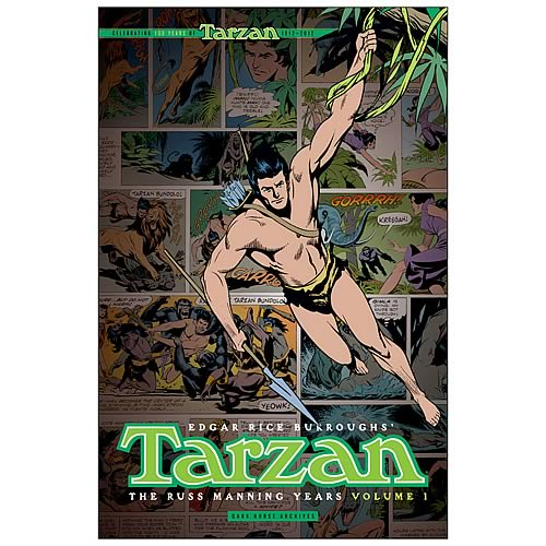 Tarzan Russ Manning Years Vol. 1 Hardcover Graphic Novel