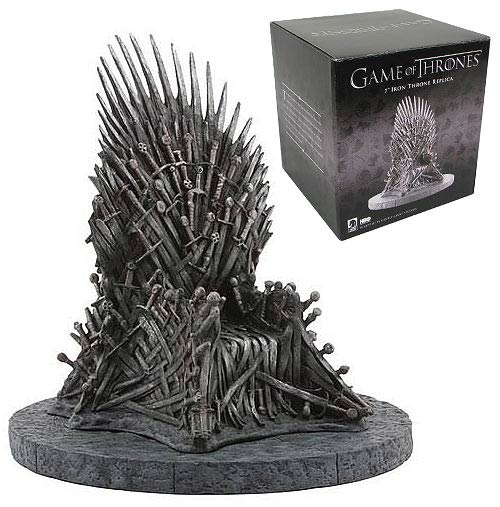 Game of Thrones Miniature Iron Throne 7-Inch Replica Statue
