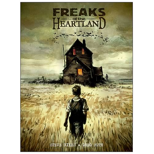 Freaks of the Heartland Hardcover Graphic Novel