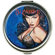 Bettie Page by Olivia Bizarre Round Compact