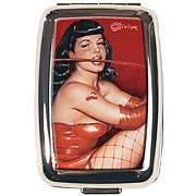 Bettie Page by Olivia Red Devil Pillbox