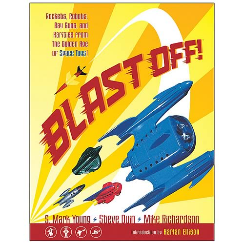 Blast Off! Golden Age of Space Toys Book