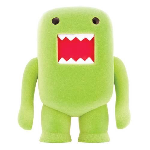 Domo Lime Soda Flocked 4-Inch Vinyl Figure