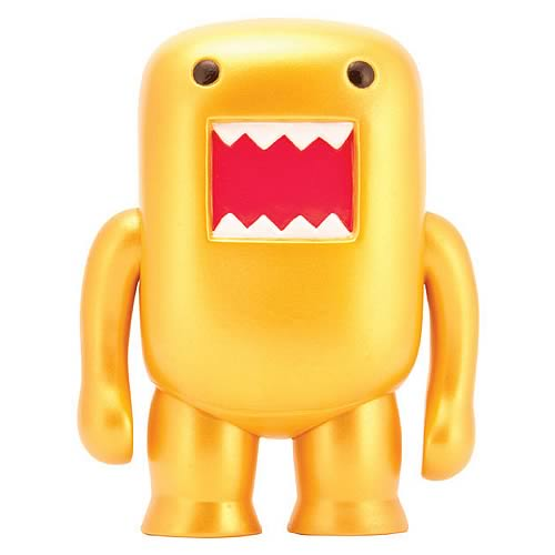 Domo Gold Flocked 4-Inch Vinyl Figure