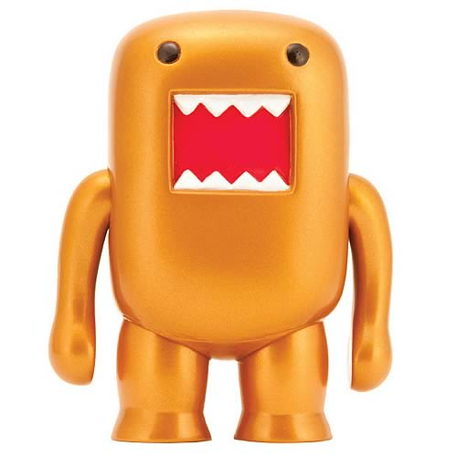 Domo Bronze Flocked 4-Inch Vinyl Figure
