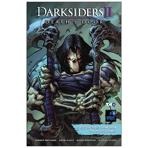 Darksiders 2 Death's Door Volume 1 Hardcover Graphic Novel