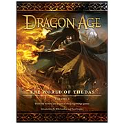 Dragon Age The World of Thedas Volume 1 Hardcover Book