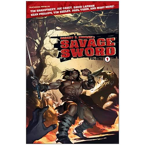 Robert E. Howard's Savage Sword Volume 1 Graphic Novel