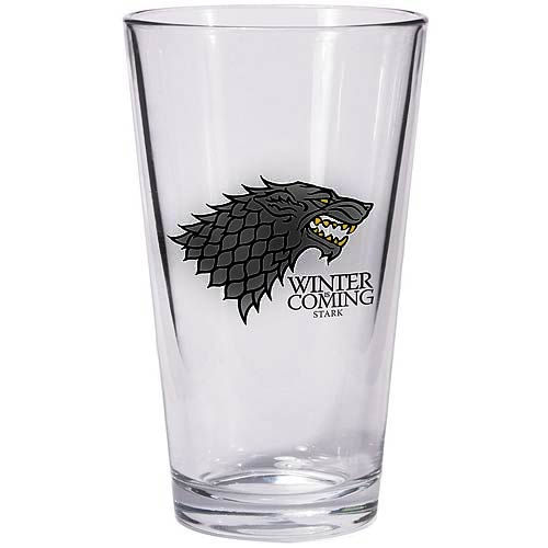 Game of Thrones Stark Sigil Pint Glass