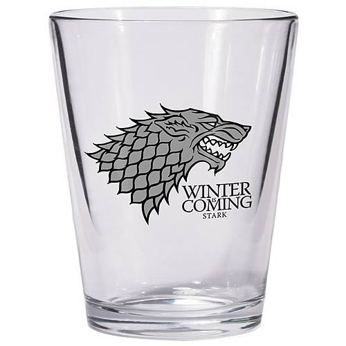 Game of Thrones Stark Sigil Shot Glass