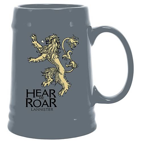 Game of Thrones Lannister Sigil Ceramic Stein
