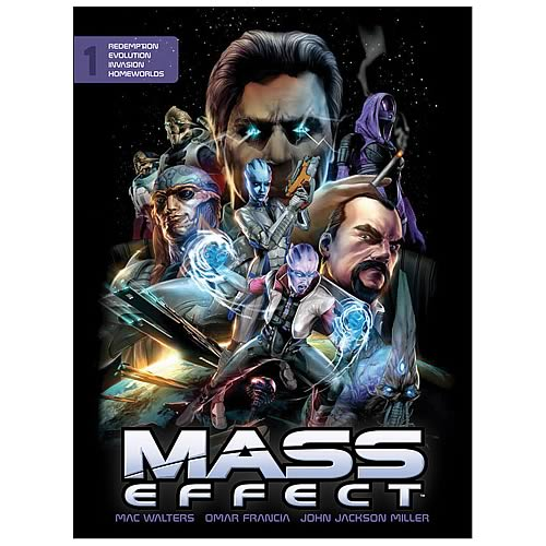 Mass Effect Volume 1 Library Edition Hardcover Graphic Novel