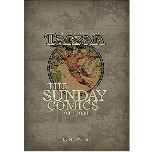 Tarzan The Sunday Comics 1931-1933 Volume 1 Hardcover Book