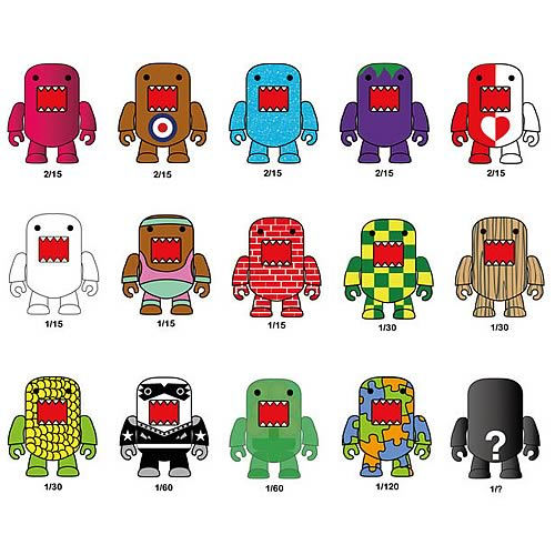 Domo Qee Series 5 Mini-Figure 5-Pack