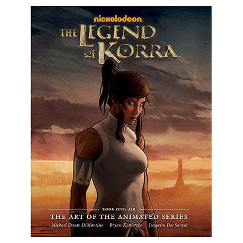 The Legend of Korra Art of the TV Series Hardcover Book