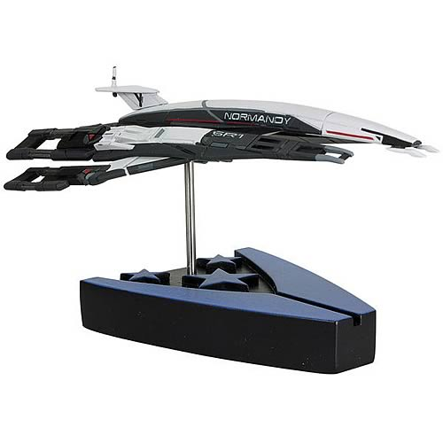Mass Effect Alliance Normandy SR-1 Ship Replica Statue
