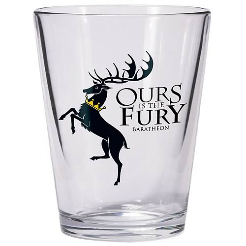 Game of Thrones Baratheon Sigil Shot Glass