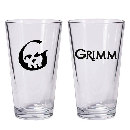 Grimm TV Show Pint Glass
