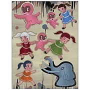Gary Baseman The Door is Always Open Magnet Set