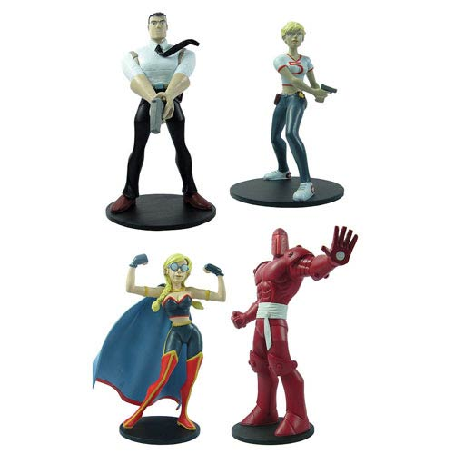 Powers Vinyl Figure 4-Pack Set