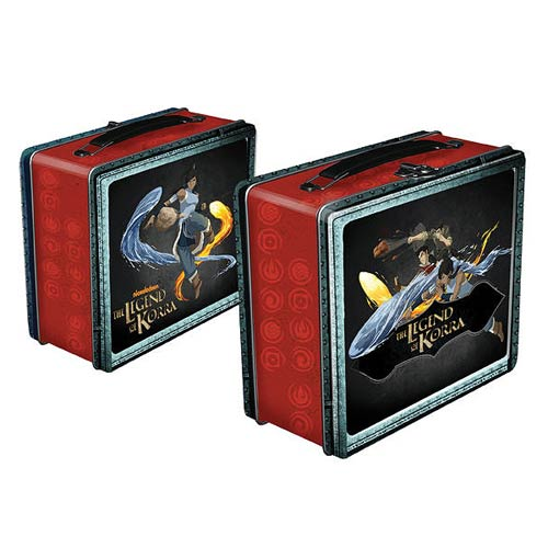 Avatar The Legend of Korra Lunch Box