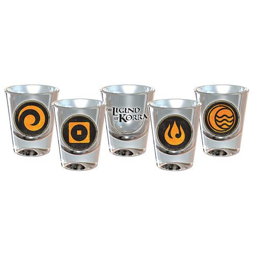 Avatar The Legend of Korra Shot Glass 4-Pack