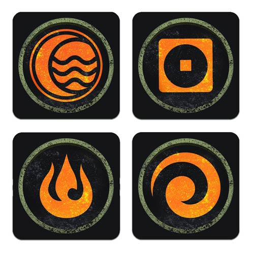 Avatar The Legend of Korra Coaster Set