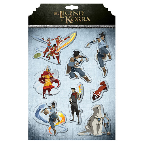 Avatar The Legend of Korra Magnet Set
