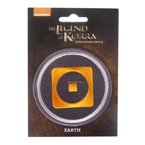 Avatar The Legend of Korra Earth Patch