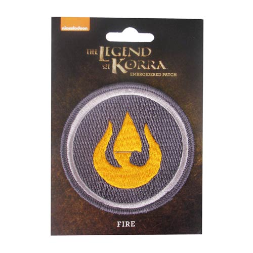 Avatar The Legend of Korra Fire Patch