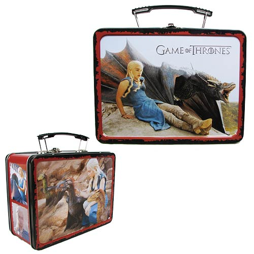 Game of Thrones Daenerys Targaryen Tin Lunch Box