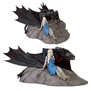 Game of Thrones Daenerys and Drogon Mini Statue