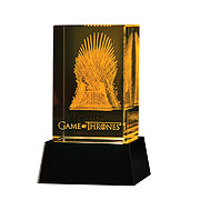 Game of Thrones Iron Throne 3D Crystal Replica