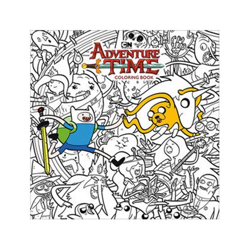 Join Finn and Jake to explore the Land of Ooo with the Adventure Time Adult Coloring Book! Dark Horse and Cartoon Network present this lively collection, celebrating the hit animated series! Featuring forty-five original and stunningly detailed black-and-white images for you to color, this collection is a must-have for fans near and far! 96 pages. 10-inches x 10-inches.