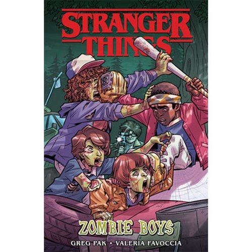 Stranger Things: Zombie Boys Book