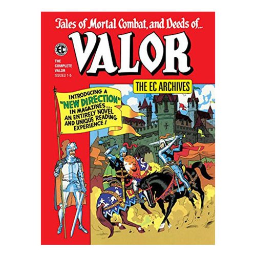 The EC Archives: Valor Hardcover Book