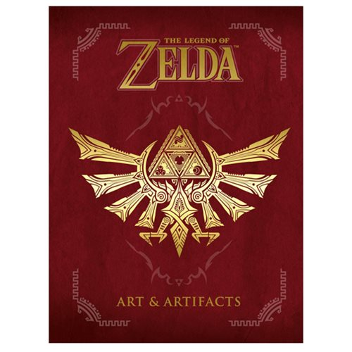 The Legend of Zelda: Art and Artifacts Hardcover Book