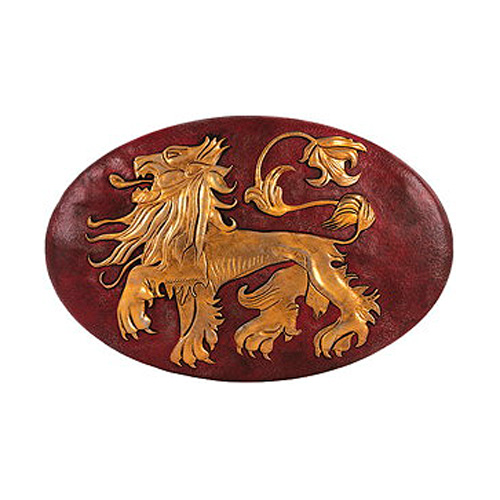 Game of Thrones Lannister Shield Wall Plaque Con Exclusive