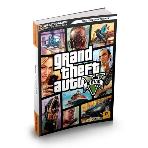 Grand Theft Auto 5 Signature Series Strategy Guide Book