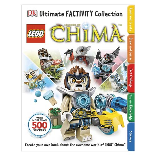 LEGO Legends of Chima Ultimate Factivity Collection Book