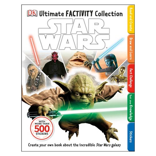 Star Wars Ultimate Factivity Collection Book