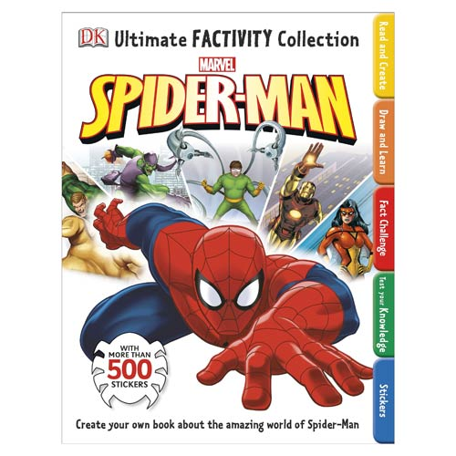 Spider-Man Ultimate Factivity Collection Book