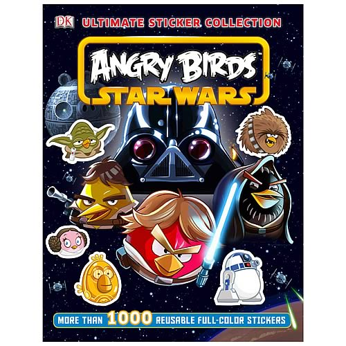 Star Wars Angry Birds Ultimate Sticker Collection Book