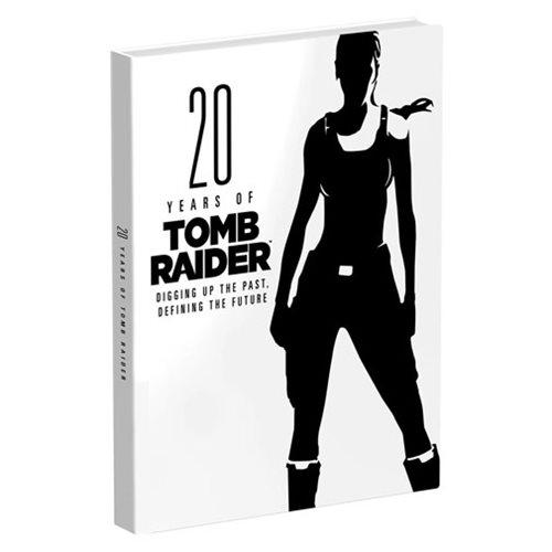 Tomb Raider 20 Years of Tomb Raider Hardcover Book