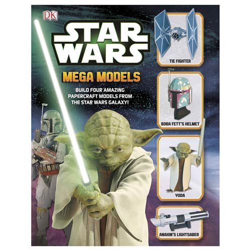 Star Wars Mega Models Papercraft Book