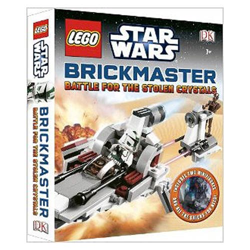 LEGO Star Wars Battle for Stolen Crystals Brickmaster Book