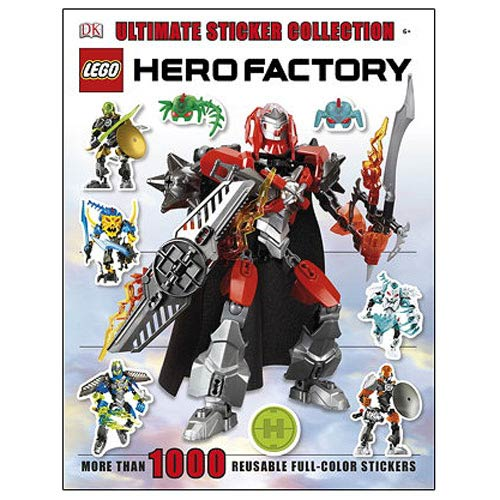 LEGO Hero Factory Ultimate Sticker Book